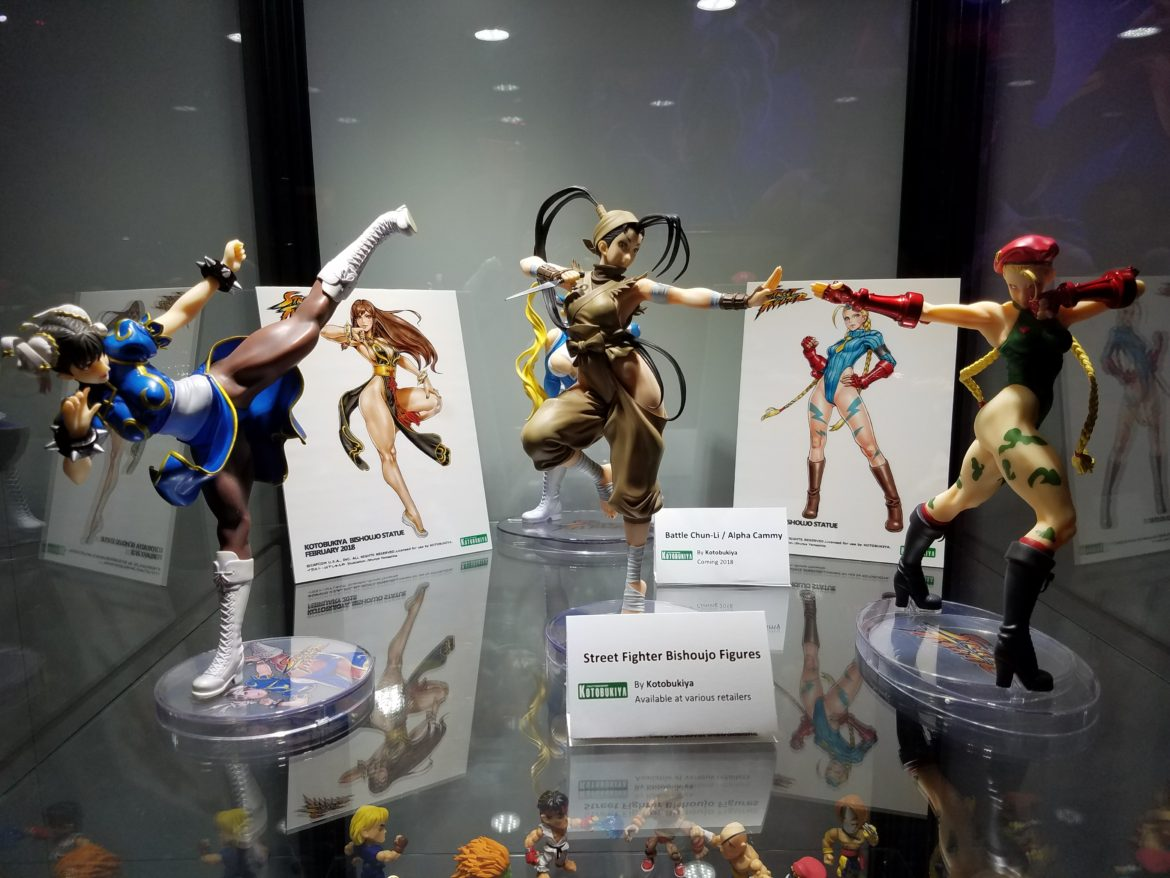 Capcom Had A Fantastic Display Of Figures, Clothing And Other Merchandise  On The Floor At This Yearu0027s E3. Their Glass Cabinets Were Stocked Full Of  Not Only ...