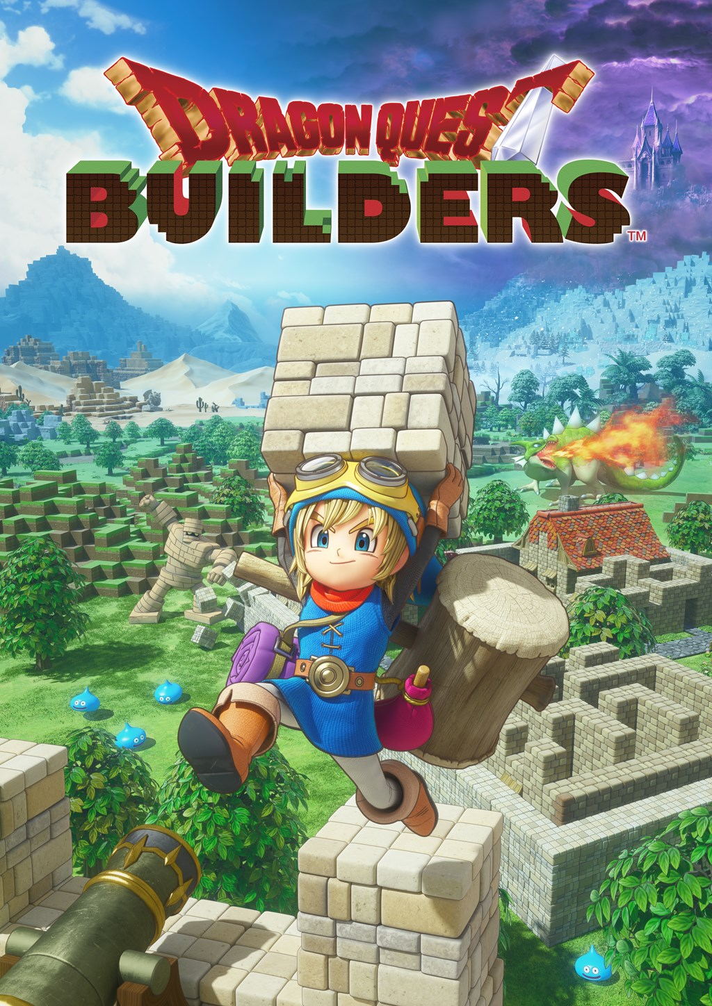 Dragon Quest Builders Is Coming To The Switch On February 9th Free 3 Way Animation Highly Rated Will Be Making Its Nintendo If Youre Chomping At Bit Play It Right Now